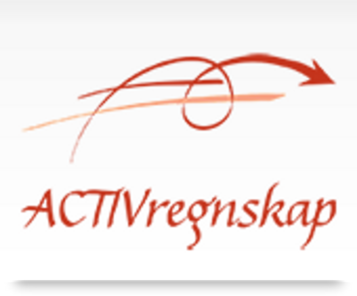 Logo, Activregnskap AS